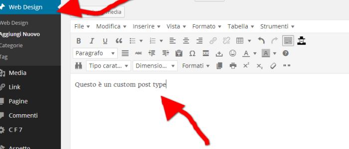 WordPress. Creare un custom post type in modo semplice e veloce